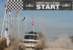 Forest Rally Start