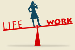 What does work–life balance mean?
