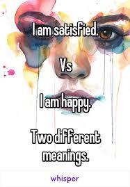 A happy discontent