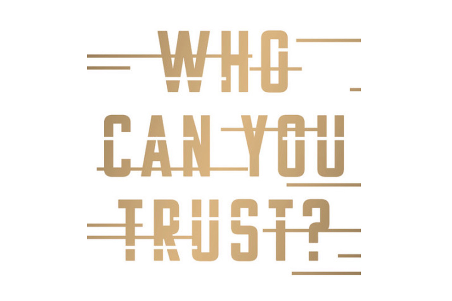 On the subject of trust